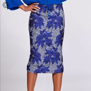 Eve Mendes jacquard skirt